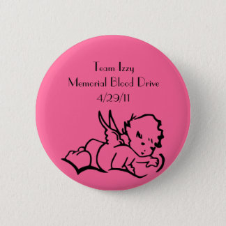 Isabelle Memorial Blood Drive Pin