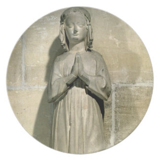 Isabelle of France (1292-1358) c.1304 (stone) Melamine Plate