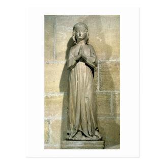 Isabelle of France (1292-1358) c.1304 (stone) Postcard