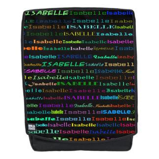 Isabelle Text Design I Backpack
