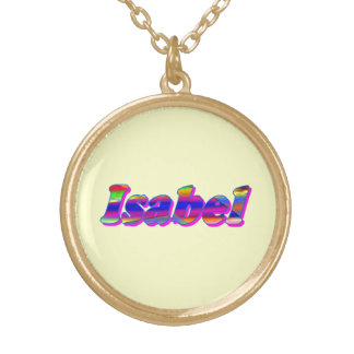 Isabel's necklace