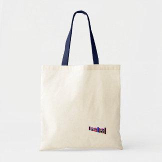 Isabel's tote bag