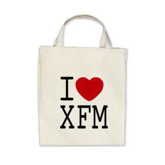 Isac  love XFM blanc Canvas Bags