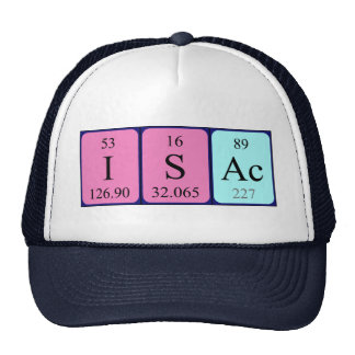 Isac periodic table name hat
