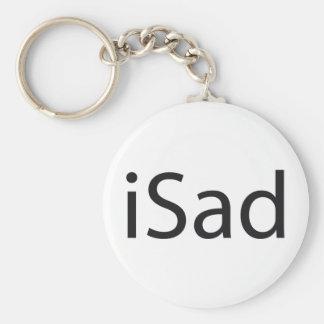 iSad - tributo Llavero Redondo Tipo Pin