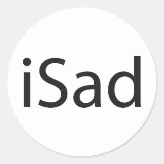 iSad - tributo Pegatina Redonda