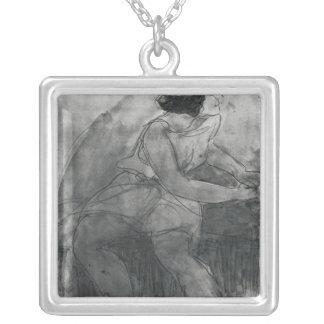 Isadora Duncan Colgante Cuadrado