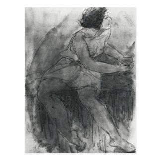 Isadora Duncan Tarjeta Postal