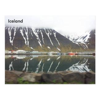 Ísafjordur, Iceland Postcard