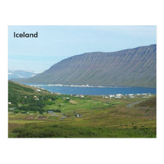 Ísafjörður, Vestfirðir, Islandia Tarjeta Postal