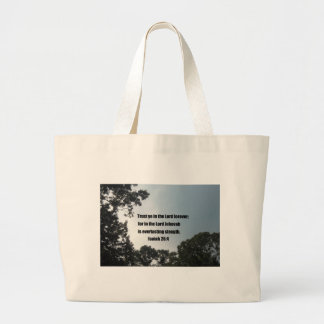 Isaiah 26:4 canvas bags