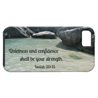 Isaiah 30:15 Quietness and confidence shall.... iPhone 5 Case