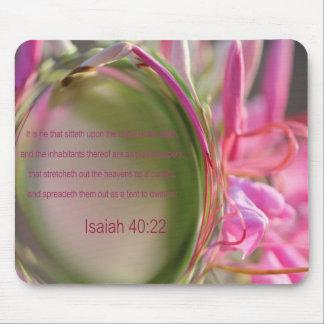 Isaiah 40:22  - mousepad