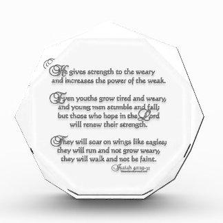 Isaiah 40:29-31 award