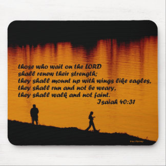 Isaiah 40:31 2011 mouse pad