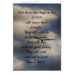 Isaiah 40:31 Custom Christian Bible Verse Gift Cards