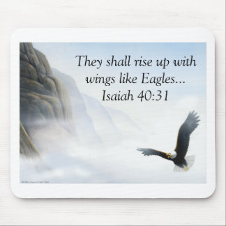 Isaiah 40:31 mouse pads