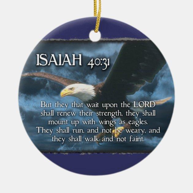 Isaiah 4031 ORNAMENT BIBLE VERSE