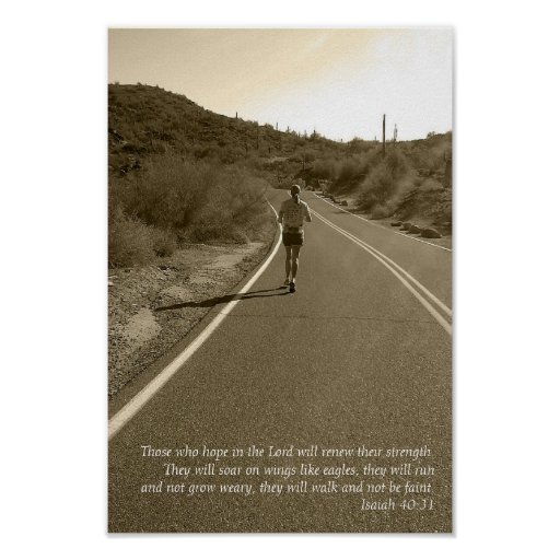 Isaiah 40:31 posters
