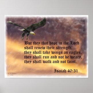 Isaiah-40:31 Poster