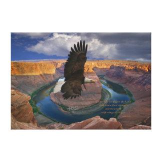 Isaiah 40:31 Scripture Wings as Eagles Print