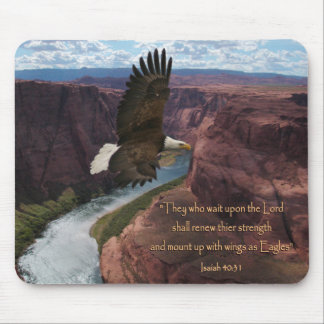 Isaiah 40:31 Wings as Eagles Mouse Pads