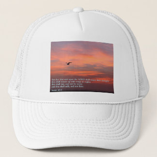 Isaiah 40:3 Sunrise Trucker Hat