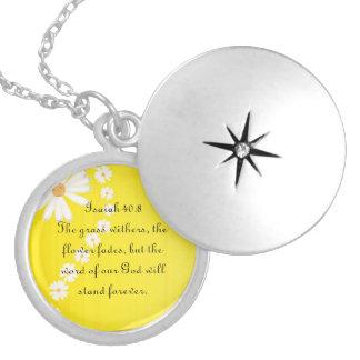 Isaiah 40:8 jewelry