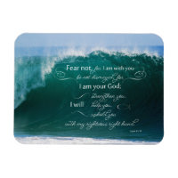 Isaiah 41 10 Bible Verse Photo Magnet