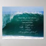 Isaiah 41 10 Bible Verse Poster