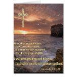 Isaiah 41: 10 christian card cards