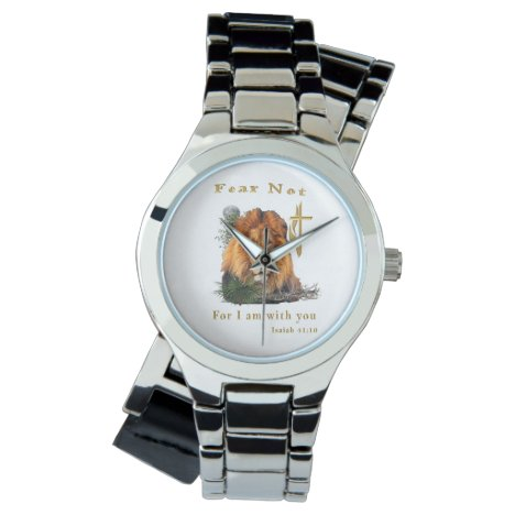 Isaiah 41:10 Christian womans  watches
