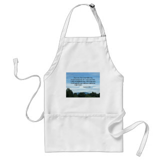 Isaiah 41:10 Fear not for I am with you Adult Apron