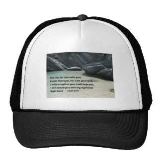 Isaiah 41:10 Fear not for I am with you... Trucker Hat