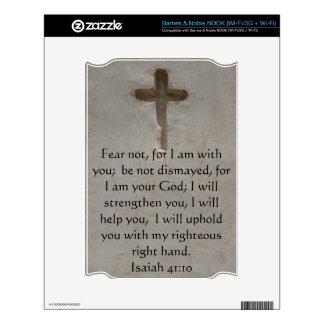 Isaiah 41:10 Inspirational Bible Verse NOOK Skins