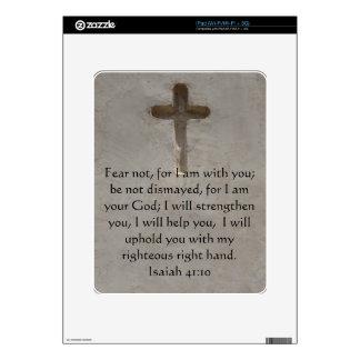 Isaiah 41:10 Inspirational Bible Verse Decals For iPad