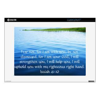 Isaiah 41:10 Inspirational Bible Verse Skin For Laptop