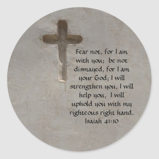 Isaiah 41:10 Inspirational Bible Verse Stickers
