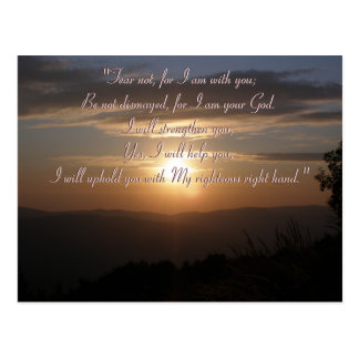 Isaiah 41;10 | Inspirational Unique Gifts Postcard
