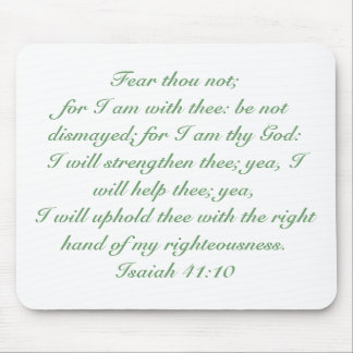 Isaiah 41:10 mouse pad