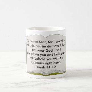 Isaiah 41:10 Mug