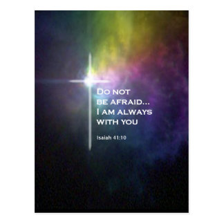 Isaiah 41:10 postcard