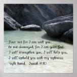 Isaiah 41:10 poster