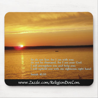 Isaiah 41:10  Sunset Mouse Pads