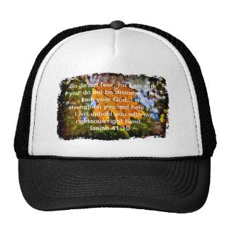 Isaiah 41:10 trucker hat