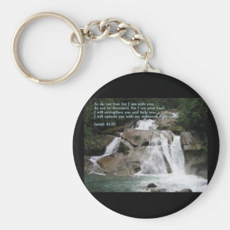 Isaiah 41:10  Waterfall Keychain