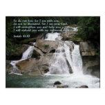 Isaiah 41:10  Waterfall Postcard