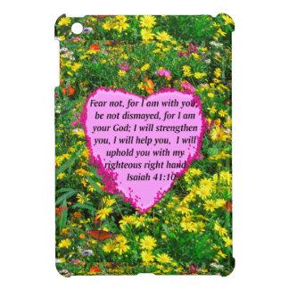 ISAIAH 41:10 WILDFLOWER PHOTO DESIGN iPad MINI CASE