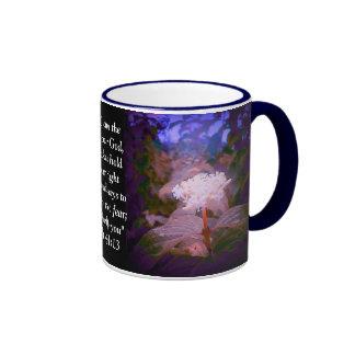 Isaiah 41:13 ringer mug