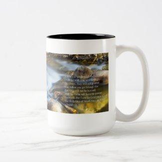 Isaiah 43:2- 3 coffee mugs